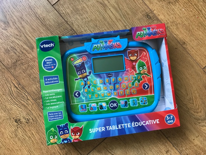 Super tablette éducative Pyjamasques de Vtech