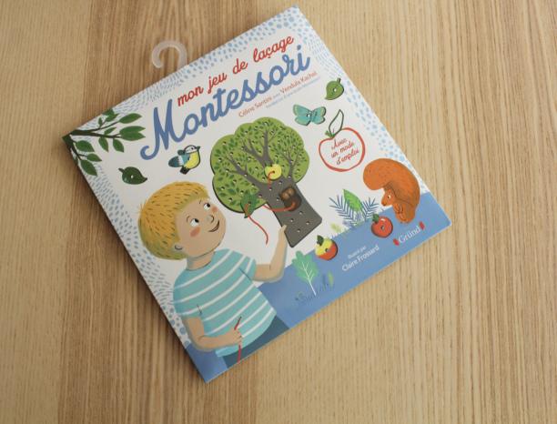 Mon jeu de laçage Montessori des éditionsGründ