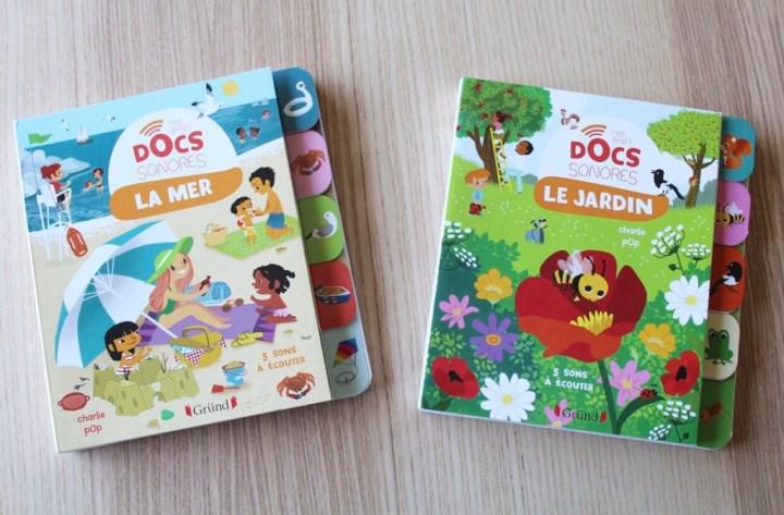 Baby Docs sonores La Mer – Le Jardin des éditionsGründ