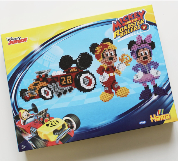 Kit perles à repasser Hama Mickey and the Roadster Racers