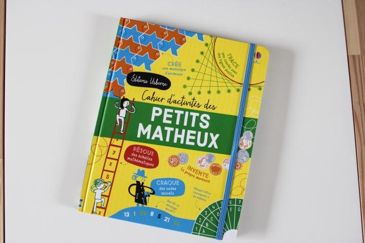 Cahier d'activités des petits matheux des éditionsUsborne.